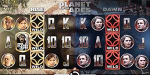 Top 10 Most Popular Slots - Planet of the Apes