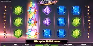Top 10 Most Popular Slots - Starburst