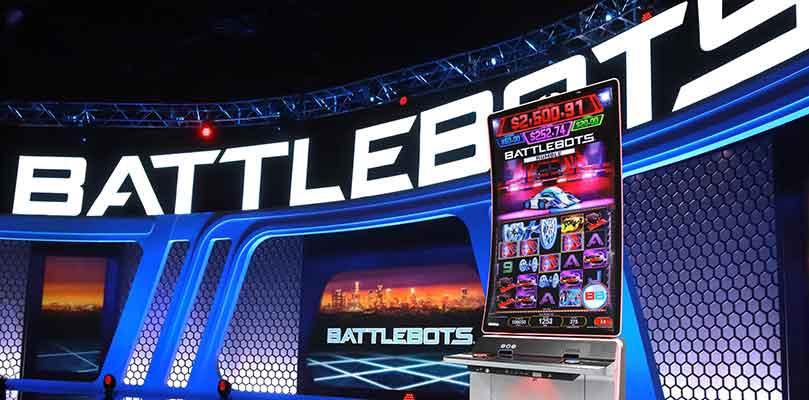 BattleBots_Slot_Series_Konami_Gaming,_Inc._2021_World_Championship_Season_6_Las_Vegas